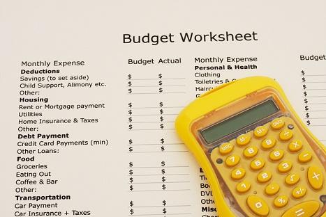 Budget 3 for blog